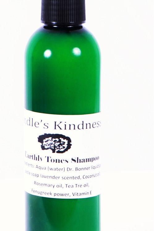 Earthly Tones Shampoo 8oz