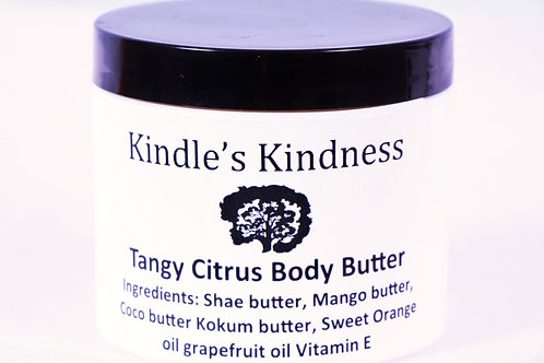 Tangy Citrus Body Butter 4oz