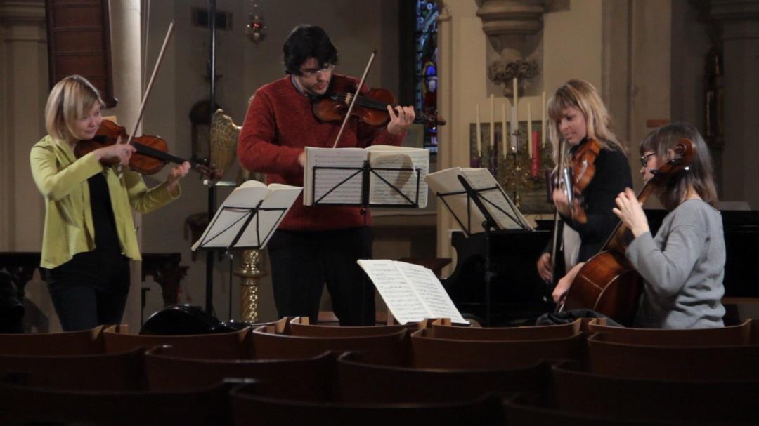 Chiaroscuro Quartet rehearing