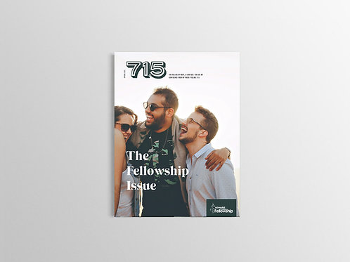 The Fellowship Issue - Hard Copy