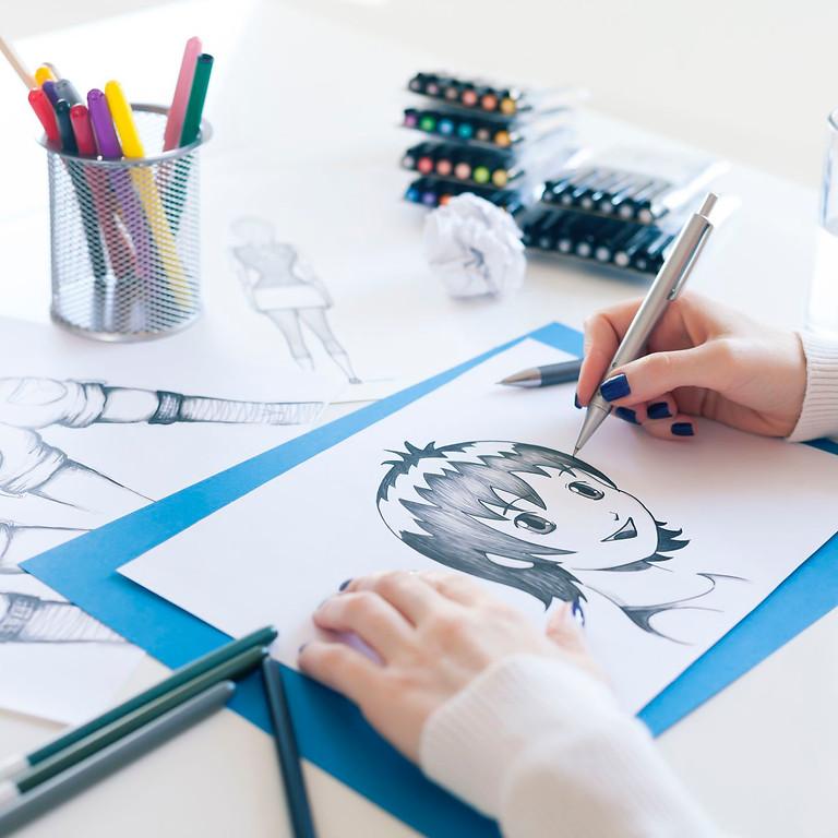 Kids Manga Drawing Class