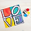 Thumbnail: LOVE Double Canvas Partner Painting