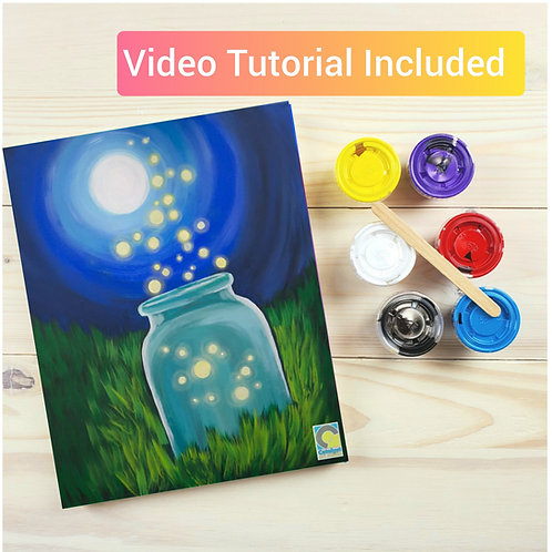Fireflies Paint Kit