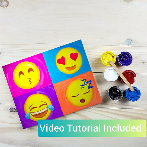 Emoji Paint Kit