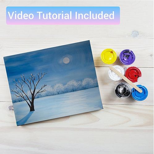 Winterscape Paint Kit