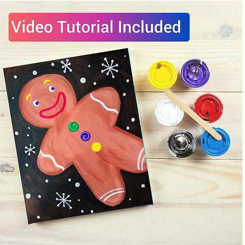 Gingerbread Paint Kit