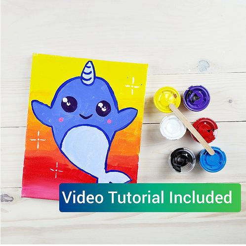 Narwhal Paint Kit