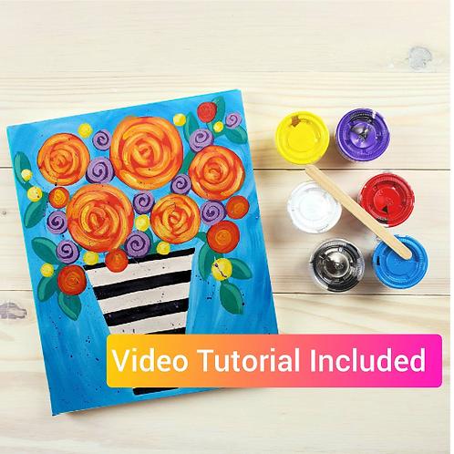 Bouquet DIY Paint Kit