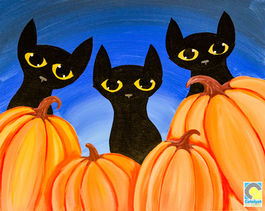 Cats and Pumpkins