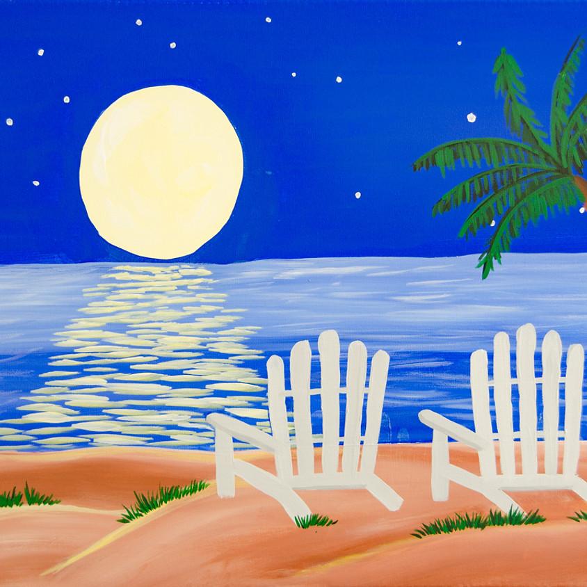 $30- Beach Chairs Paint Night