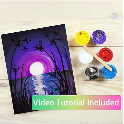 Moon Lace DIY Paint Kit