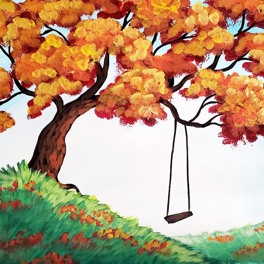 $25- Autumn Swing Paint Night