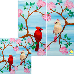 Love Cardinals- Solo or Couple