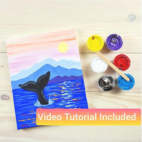 Whale Tail Paint Kit