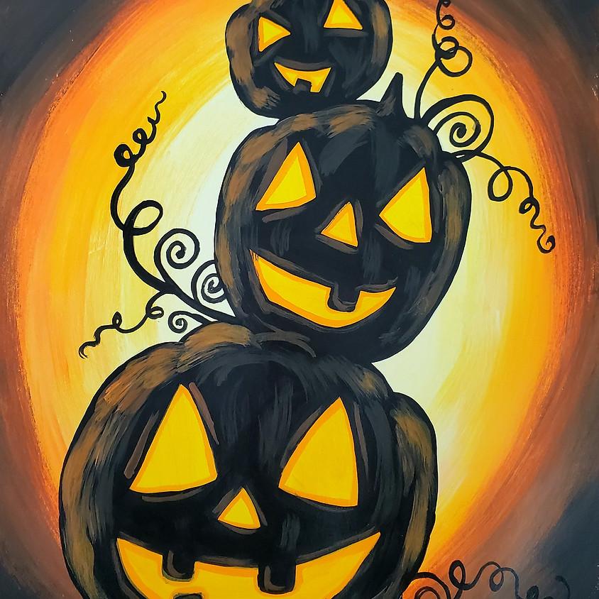 $25- Pumpkin Stack Paint Night