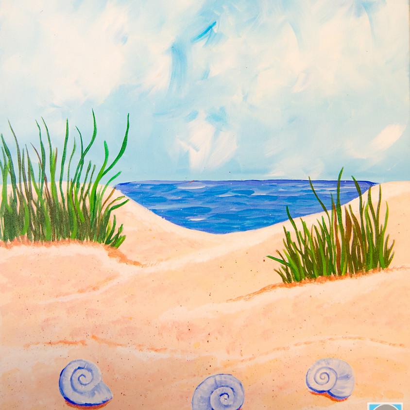$30- Seashell Paint Night