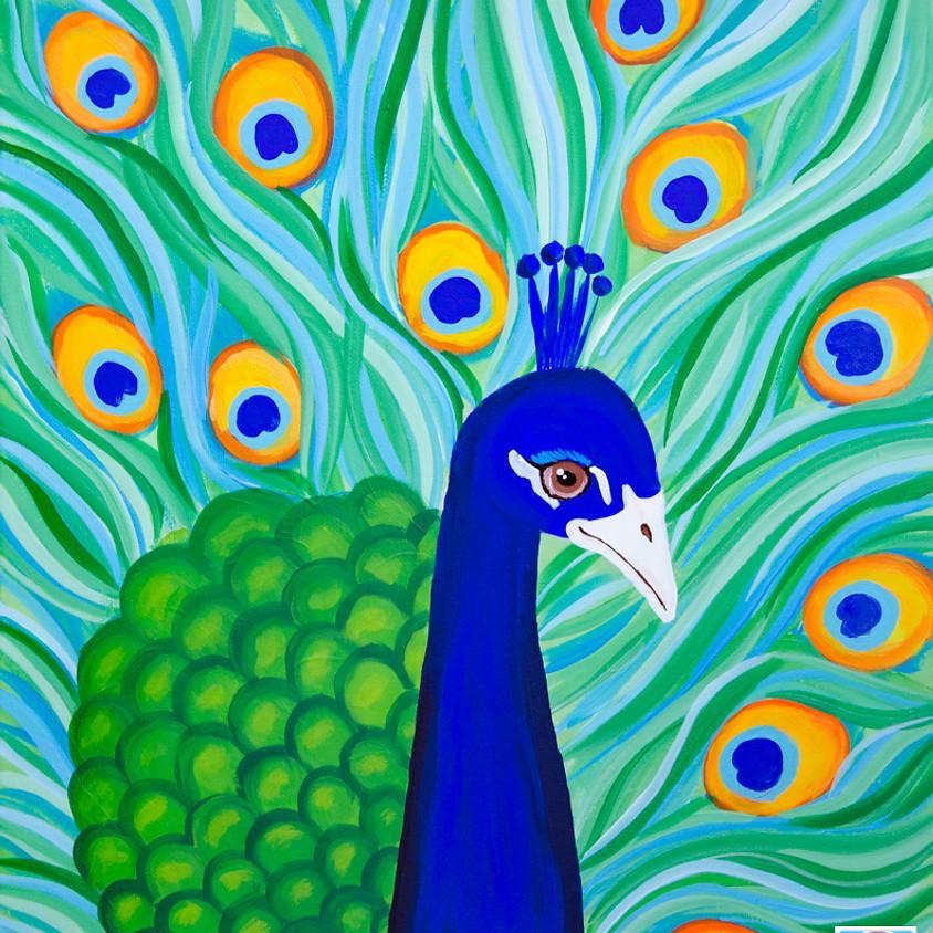 $39 Peacock Paint Night