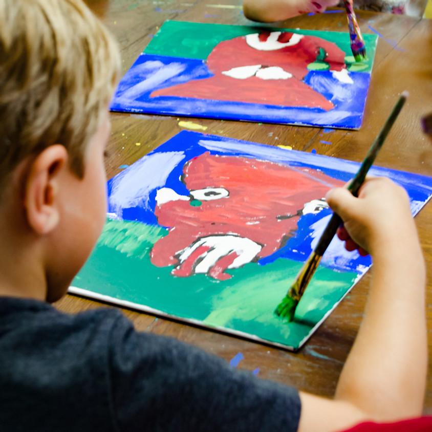 After School Art Class- November Ages 5-10