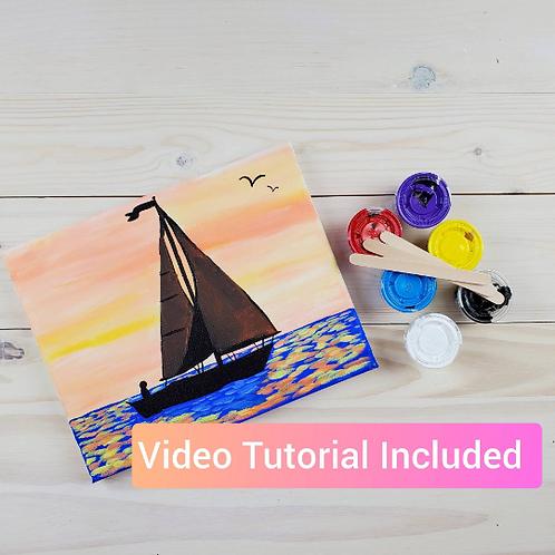 Sailboat DIY Paint Kit