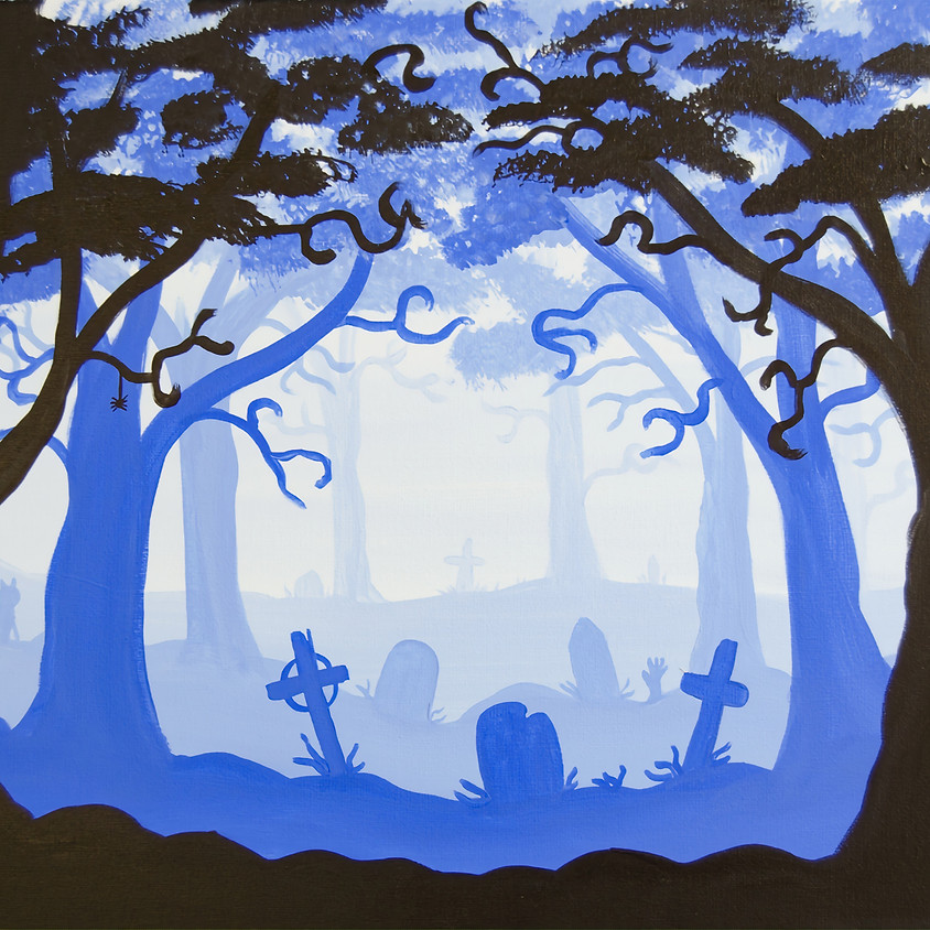 $30- Spooky Graveyard
