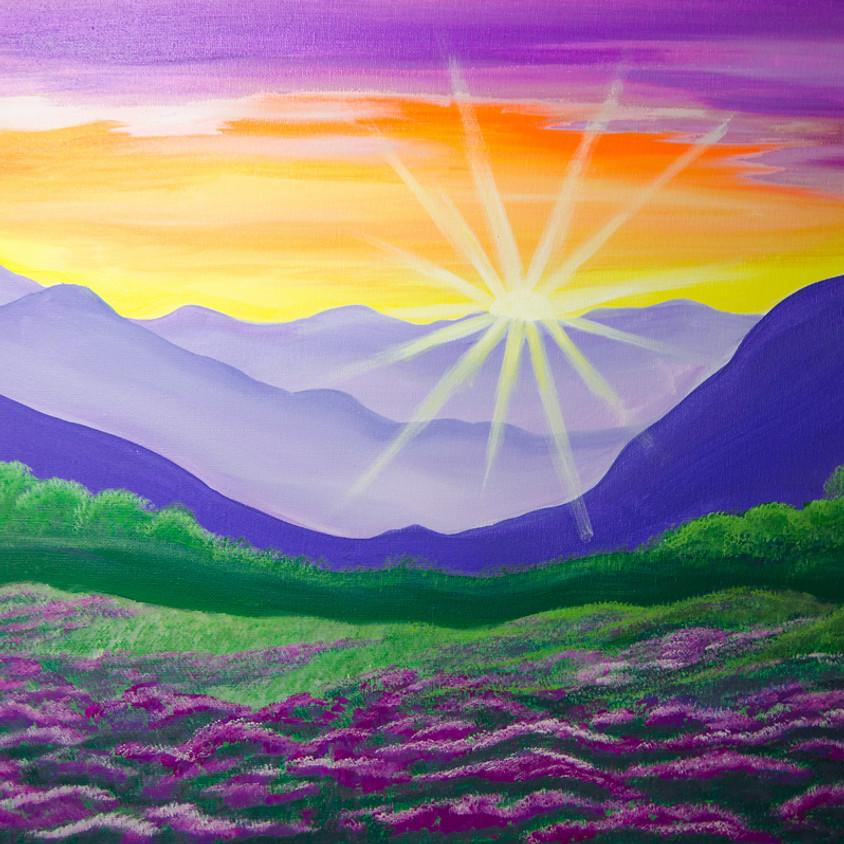 $39 Mountain Sunrise