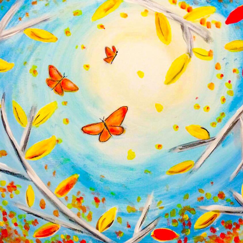 $30- Autumn Butterflies