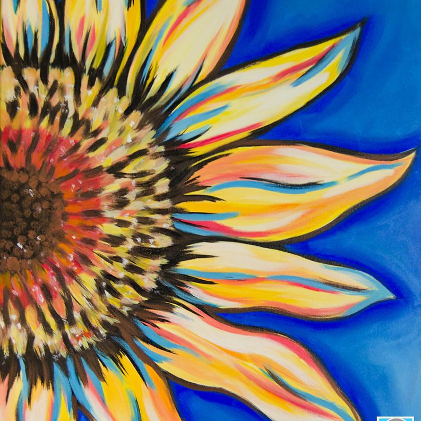 $30- Sunflower Paint Night