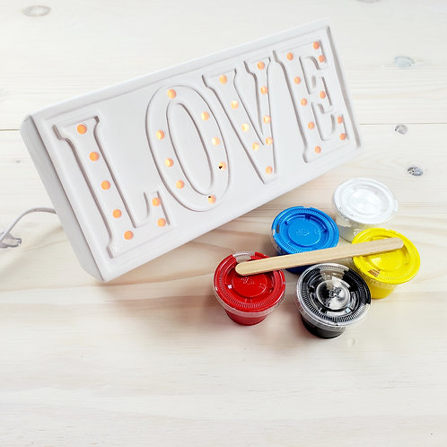 Light Up Ceramic Paint Kit