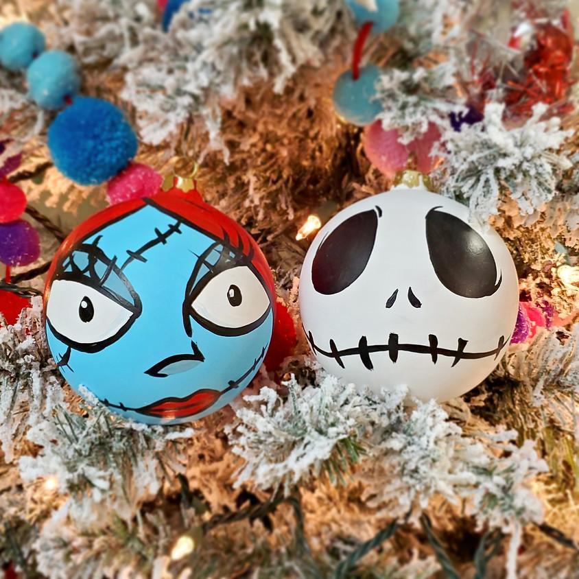 Jack Sally DIY Ornaments