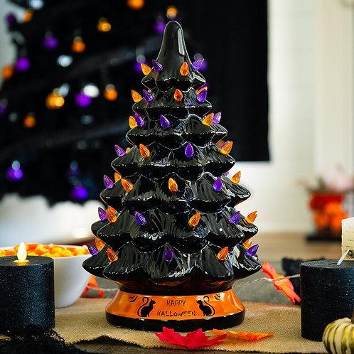 Vintage Ceramic Halloween Tree