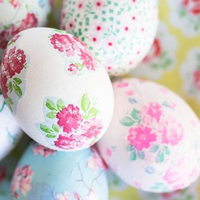 $25- Decoupage Egg Workshop