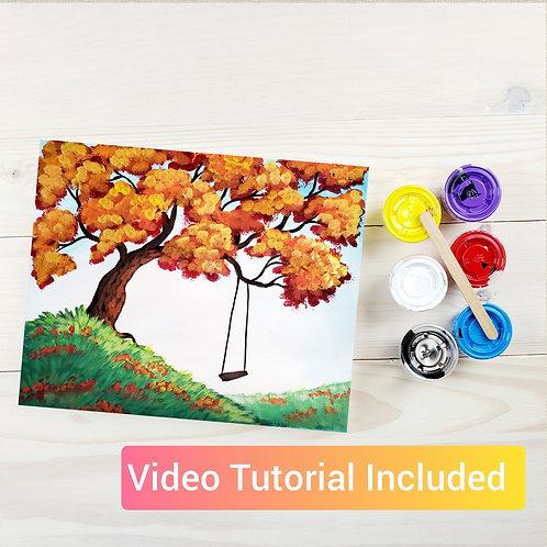 Autumn Swing DIY Paint Kit
