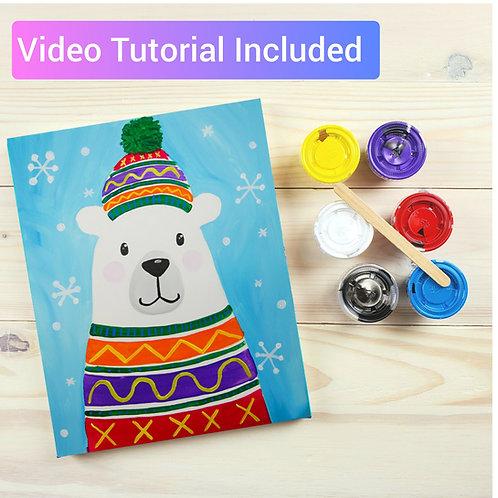 Polar Bear Paint Kit