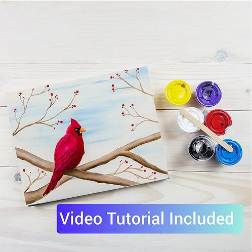 Cardinal Paint Kit