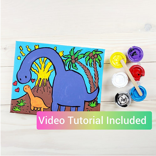 Dinosaur Paint Kit