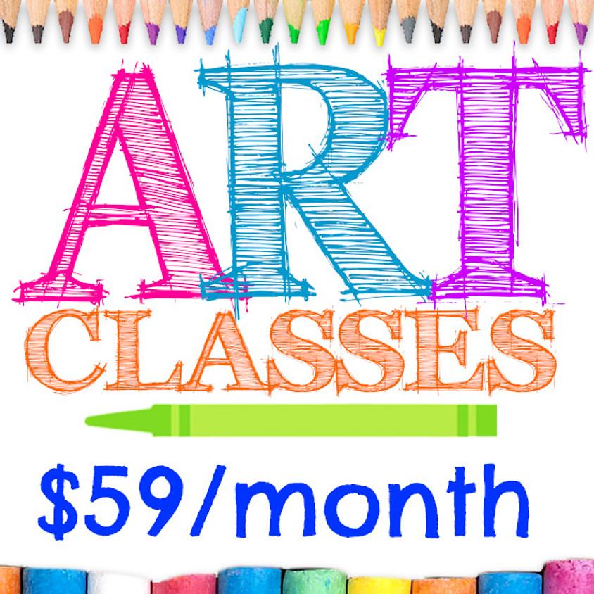 After School Art Class Ages 6-10