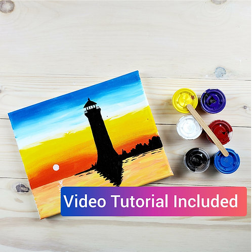 Lighthouse Paint Kit