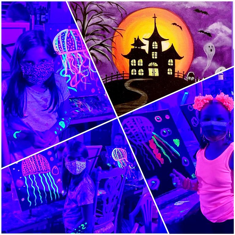 Kids Drop Off Paint Night- Glow Party