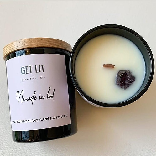 Get Lit Candle Co. NAMASTE IN BED