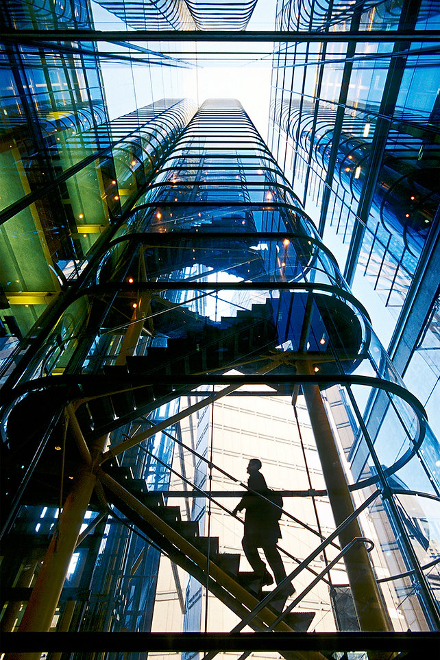 Hamster wheel, Stairway to Heaven, London, Staircase, 88 Wood Street, Richard Rogers
