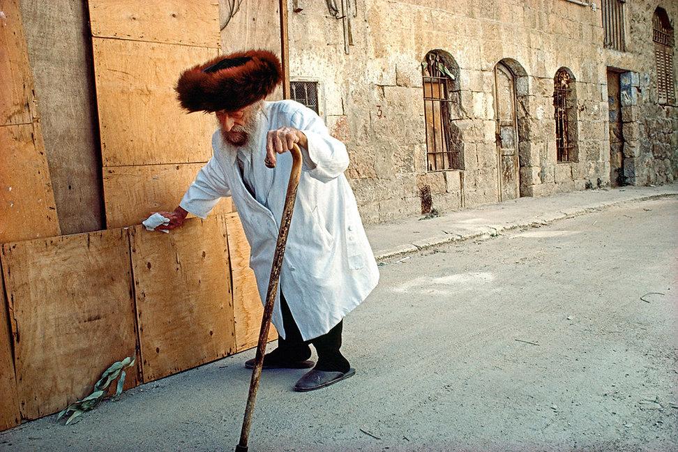 Kittel, Shtreimel, High Holidays, Mea Shearim, Jerusalem, Israel