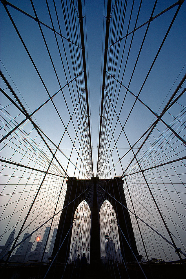 Brooklyn Bridge, The Spider Web, New York City, Brooklyn