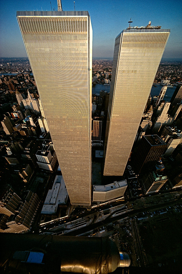 World Trade Center, bird's eye view, New York City