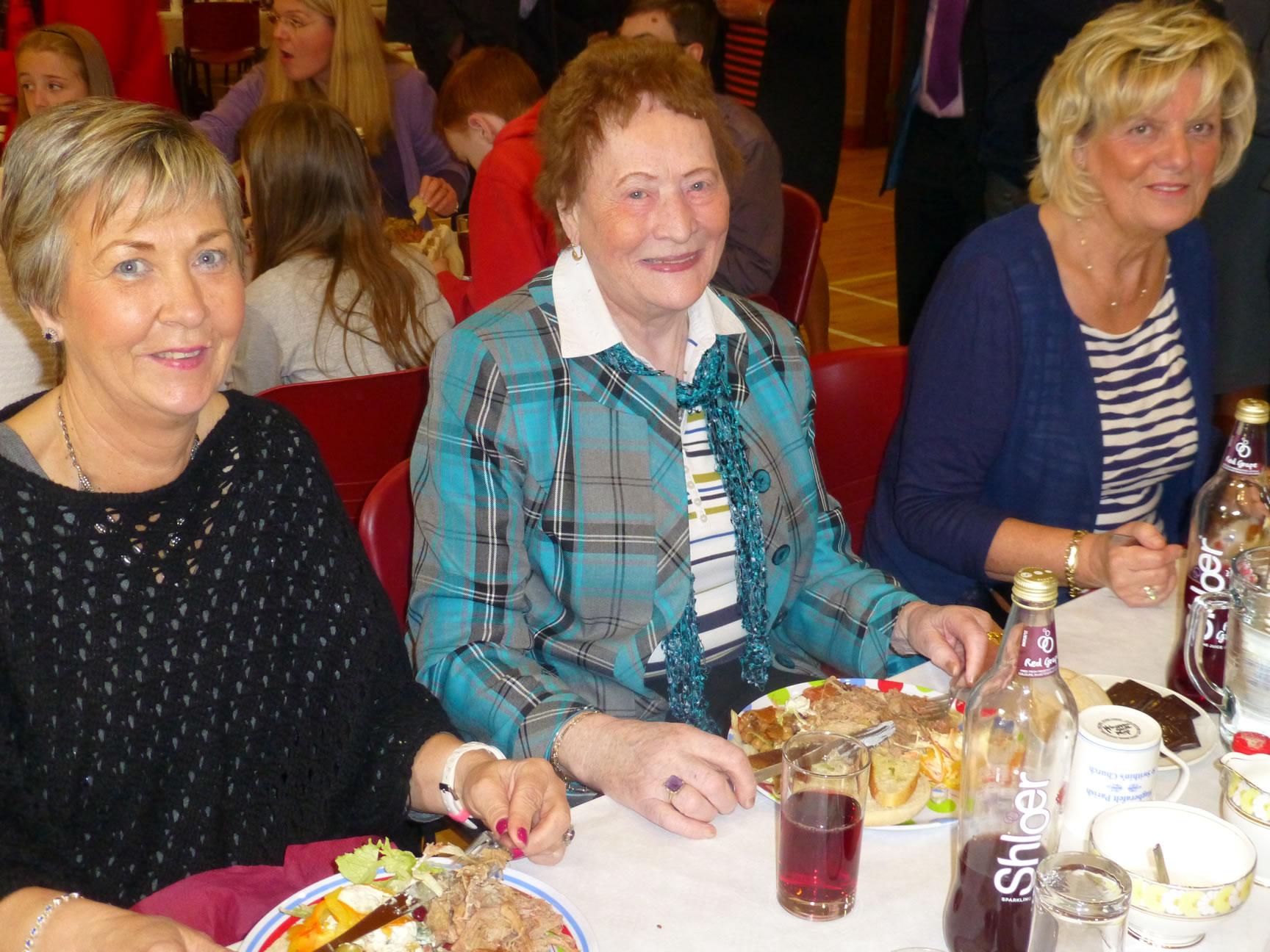 Christine Daphne and Carol