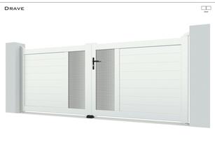 Coloris : Blanc  Remplissage : Lames 150  I Tôles Standard Trous Carrés Argentées  Bicoloration : Tôles Standard