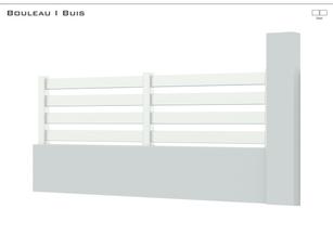 Coloris : Blanc  Remplissage :  Lames 120 Balance Lames 160 Bélier