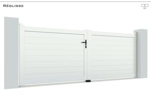 TENDANCE 2021  Coloris : Blanc  Remplissage : Lames 150 Horizontale