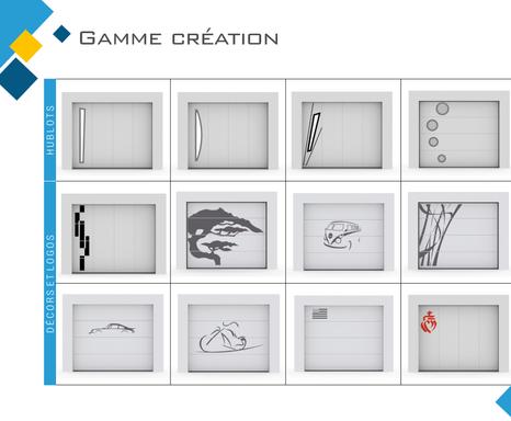 Personnalisez votre Porte de garage avec nos décors ou vos créations