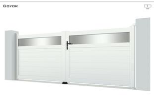 Coloris : Blanc  Remplissage : Lames 150  I Tôles Standards au choix  Bicoloration : Tôles Standards