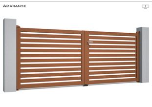 Coloris : RAL 8003 S  Remplissage : Barreaux 80 (ou lames 120)  I Traverse Haute et Basse 90  Décor : Non  Bicoloration : Possible